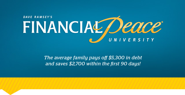 Financial Peace University at Real Life Community Church